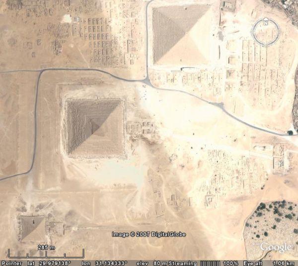 piramidele de la Gizeh, Egipt